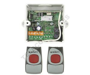 Kits Récepteur/Télécommandes CLEMSA MUTANcode II RE 248 U C N1