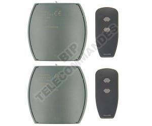 Kits Récepteur/Télécommandes MARANTEC 2D339/433