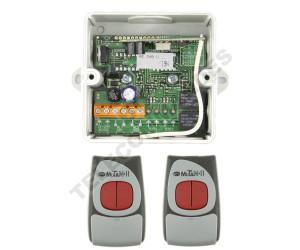 Kits Récepteur/Télécommandes CLEMSA MUTANcode II RE 248 U C N2