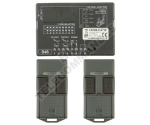 Kits Récepteur/Télécommandes CARDIN S46 MINI 27.195 MHz
