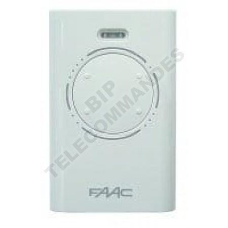 Télécommande FAAC XT4 433 SLH