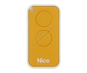 Télécommande NICE INTI 2 jaune