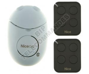 Kits Récepteur/Télécommandes NICE OX2 FLO4RE