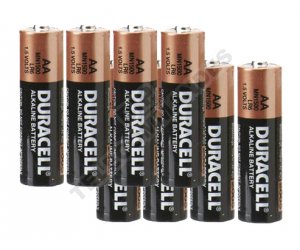 Pack piles Duracell  AA